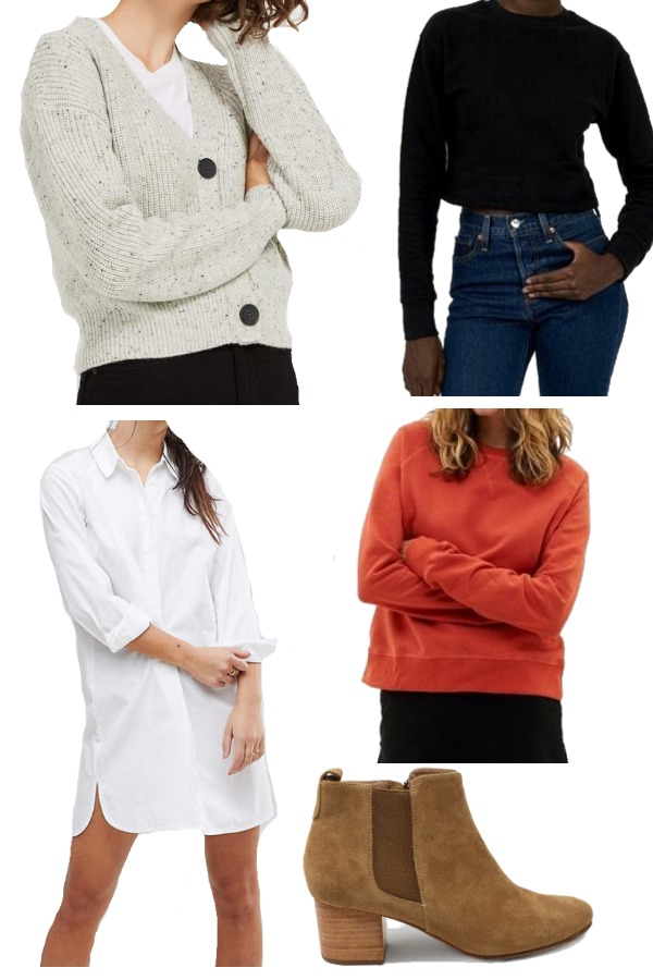 Ethical capsule wardrobe for fall