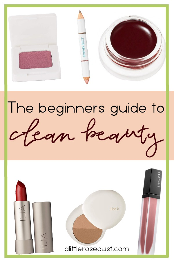 the beginners guide to clean beauty