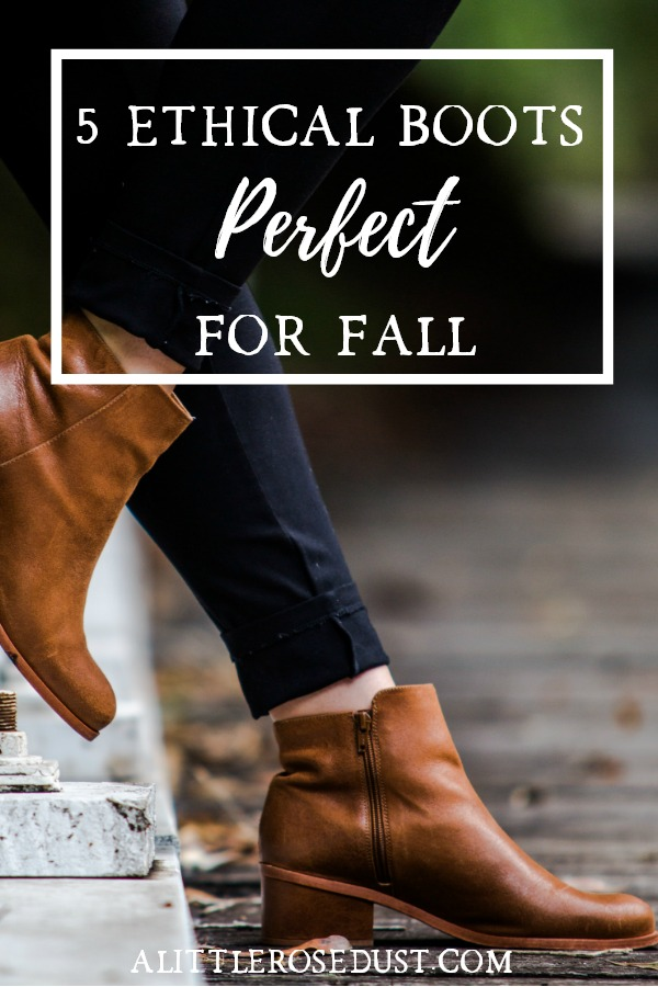 ethical boots for fall