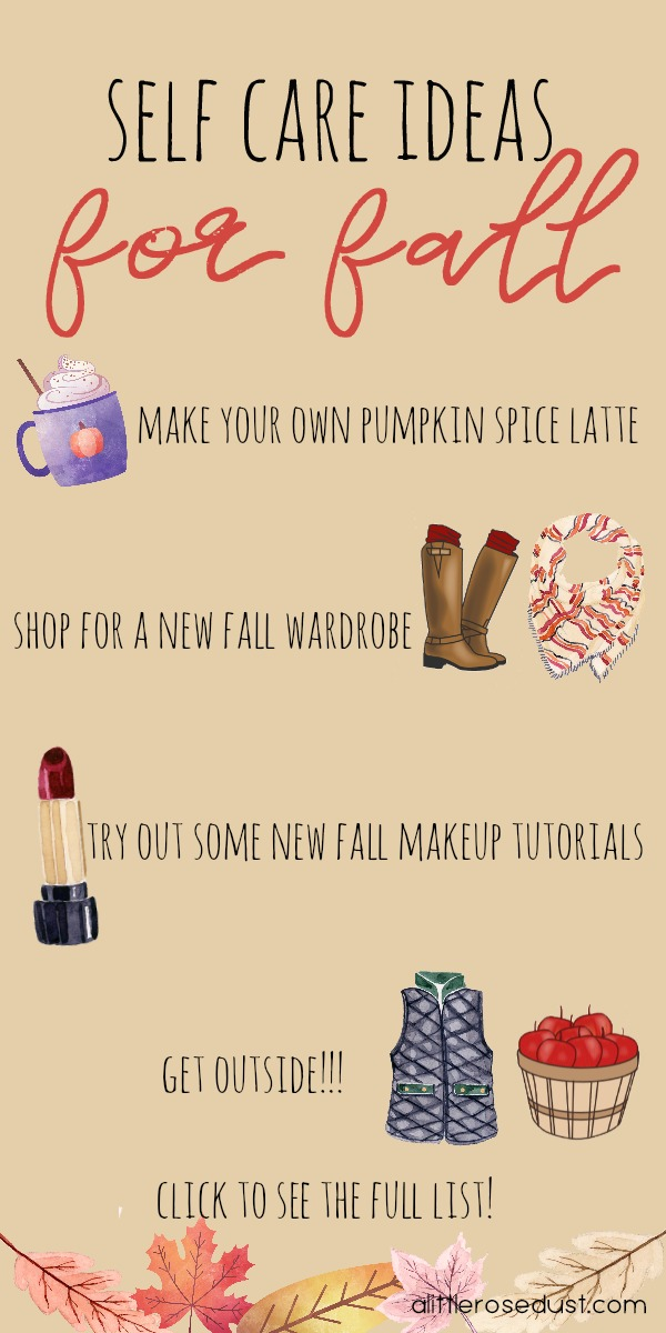 self care ideas for fall