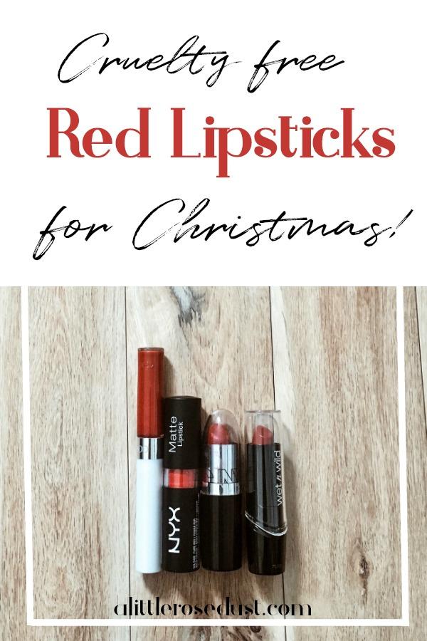 cruelty free red lipsticks