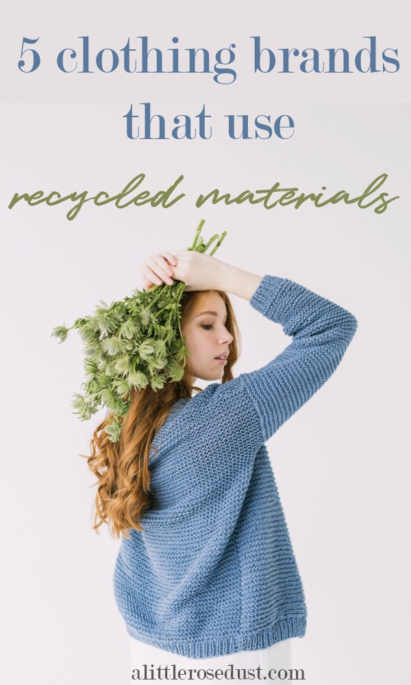 brands that use recycled materials