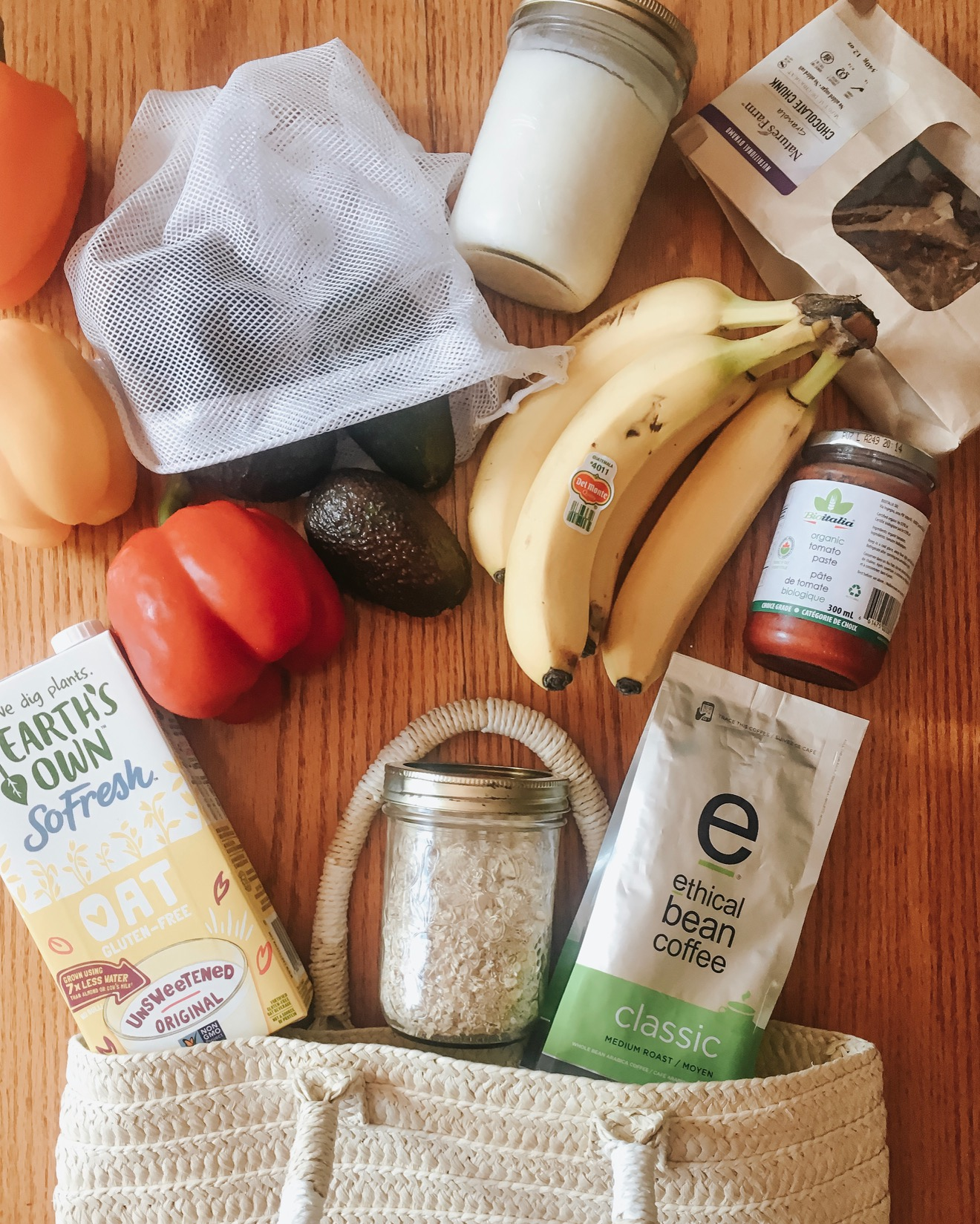 Zero Waste Series: Zero waste grocery shopping