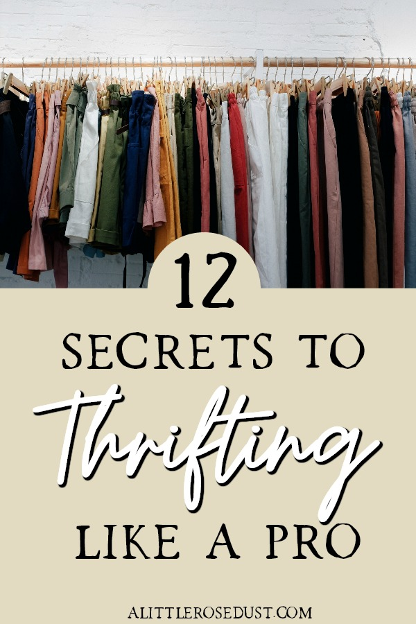 thrifting tips