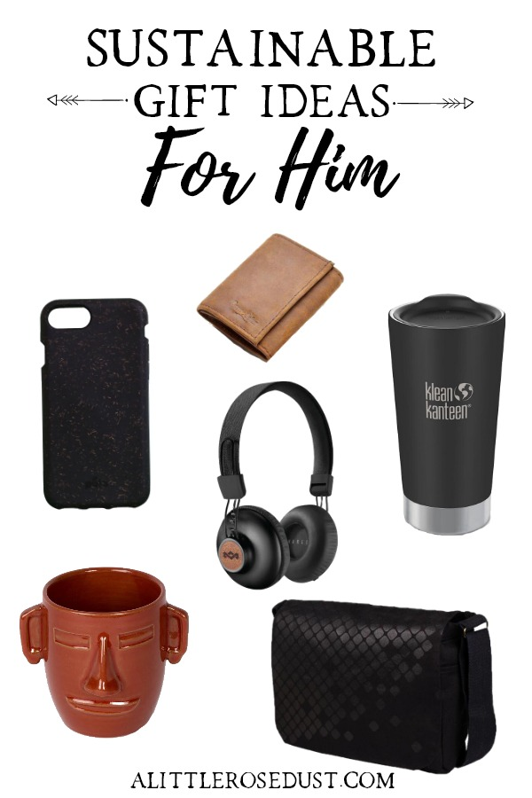 sustainable gift ideas for him