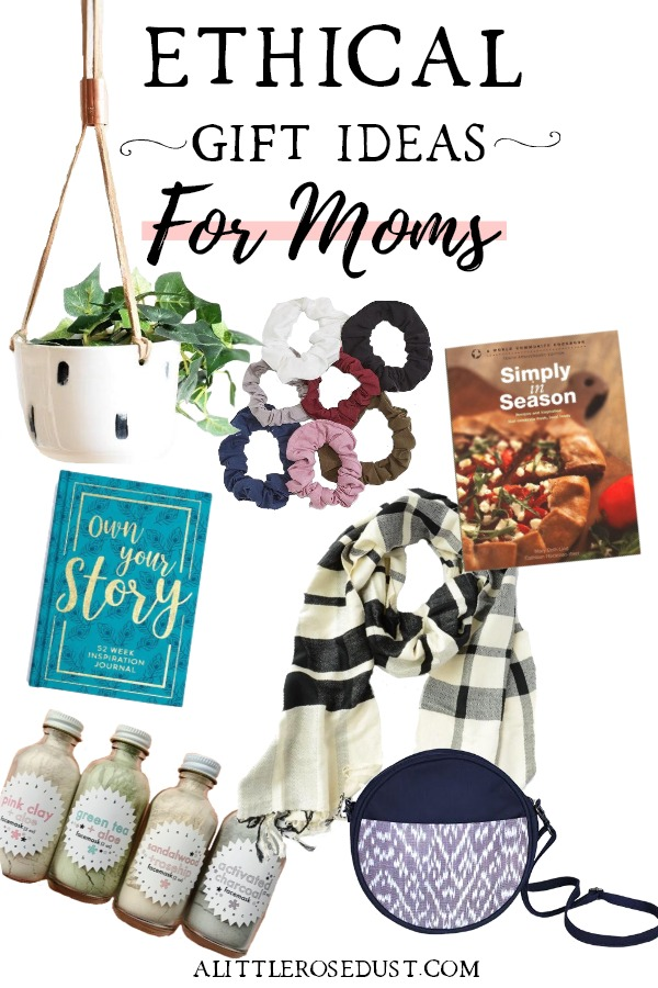 Ethical gift ideas for moms