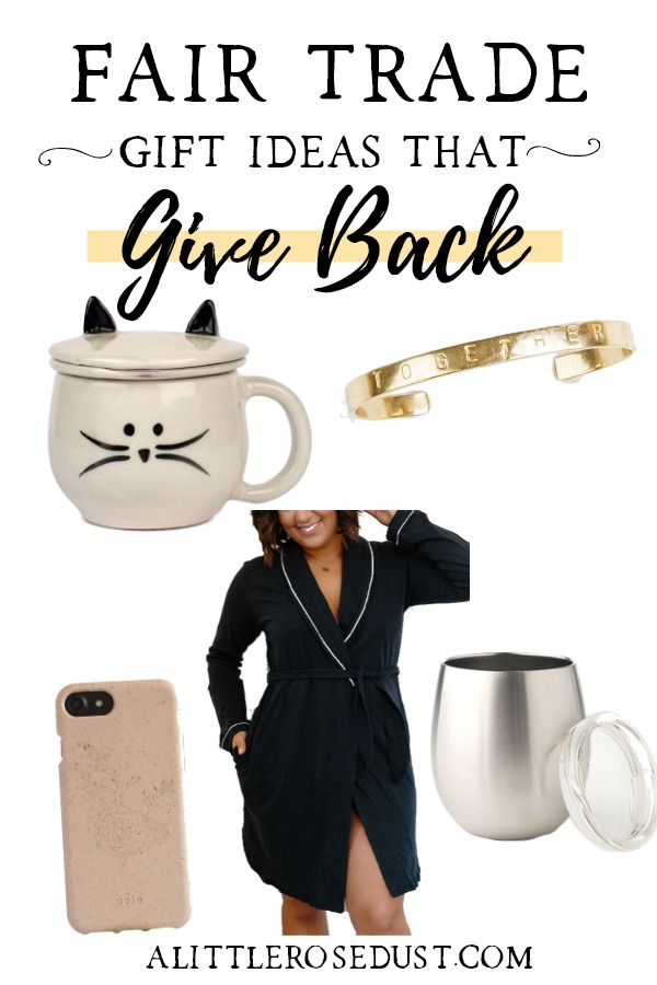 fair trade gifts that give back