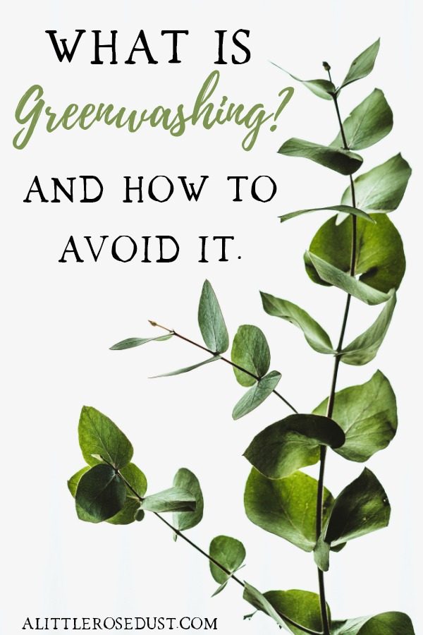 what is greenwashing