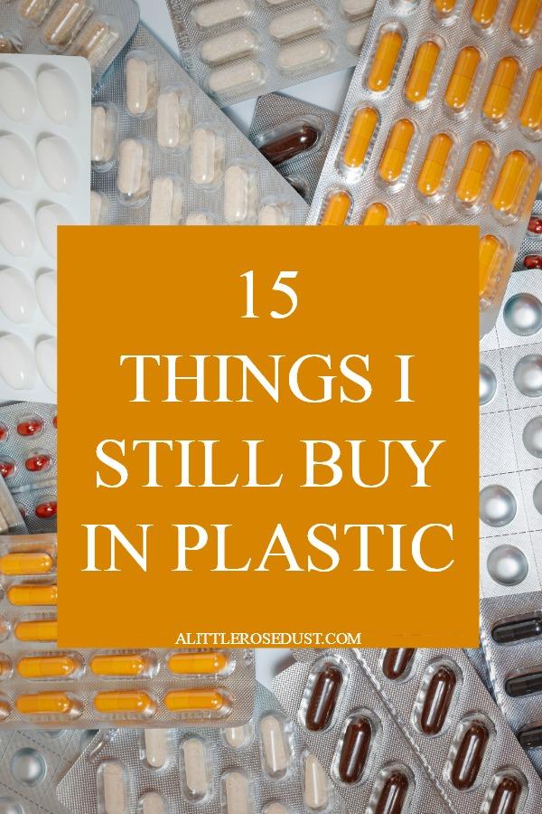 15 things I still buy in plastic