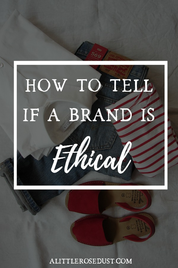 how to tell if a brand is ethical