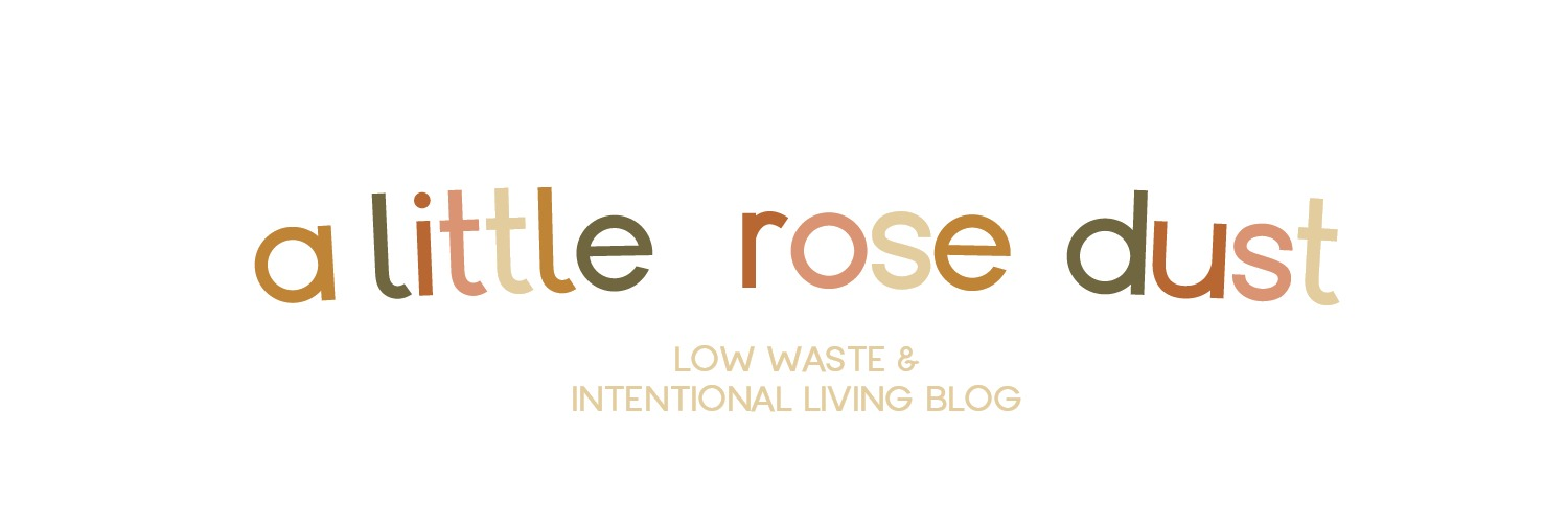 Low Waste & Intentional Living Blog