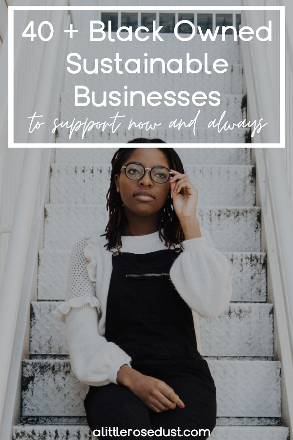 black owned sustainable businesses