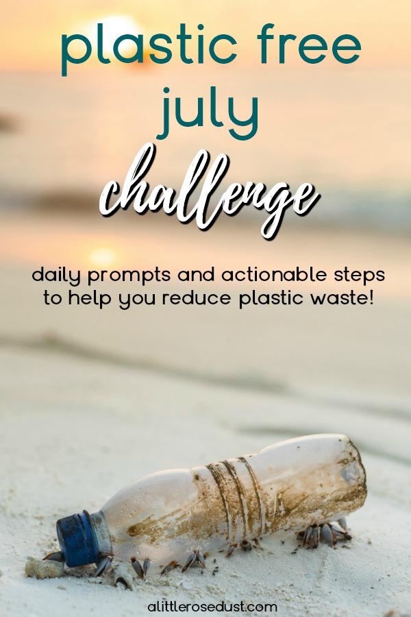 Plastic free July challenge!