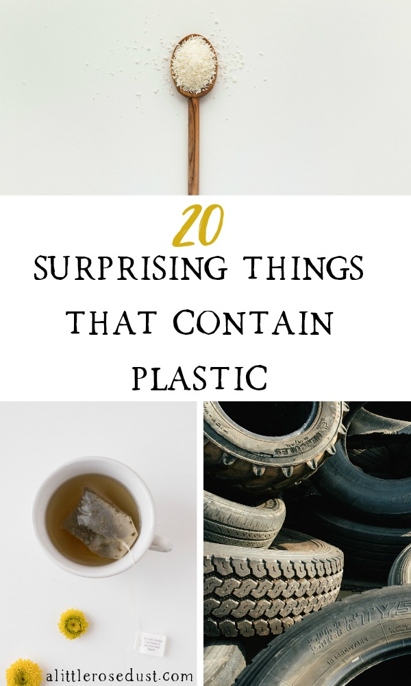 surprising things that contain plastic