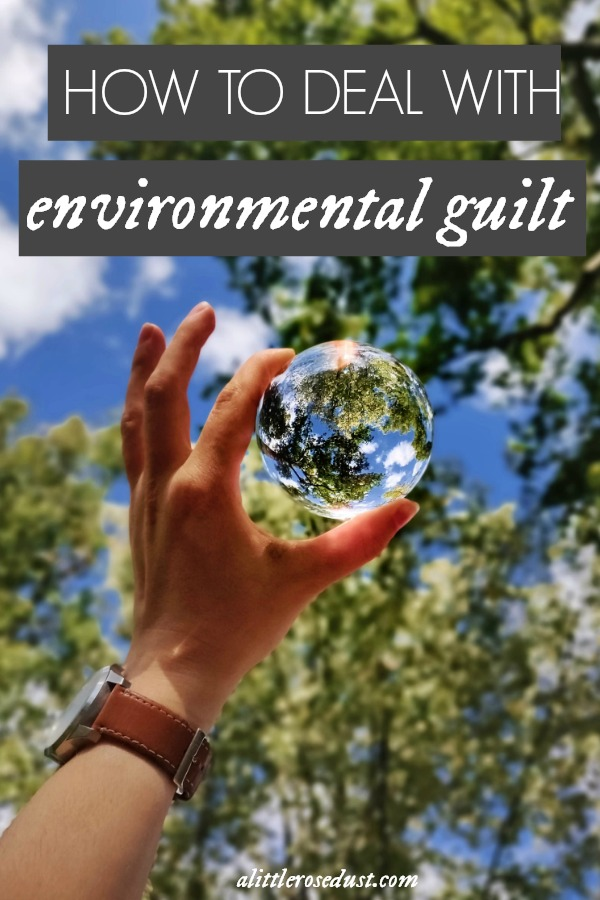 how to deal with environmental guilt