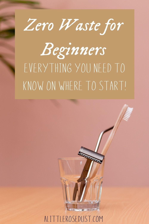 zero waste for beginners