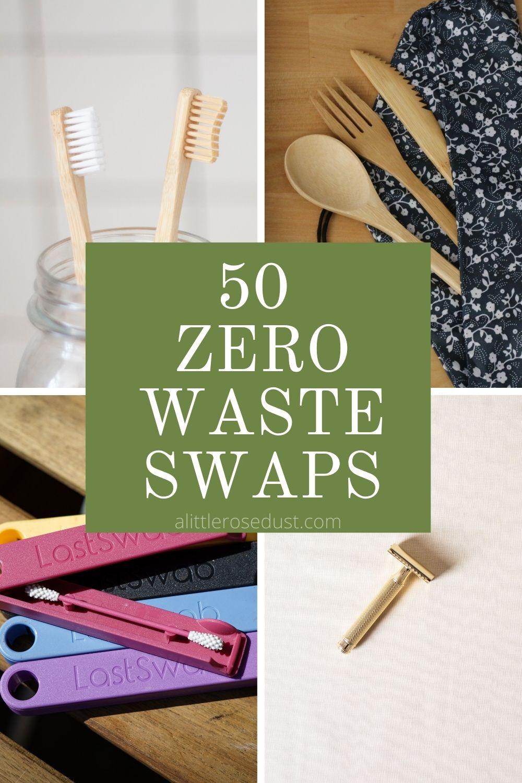 50 zero waste swaps