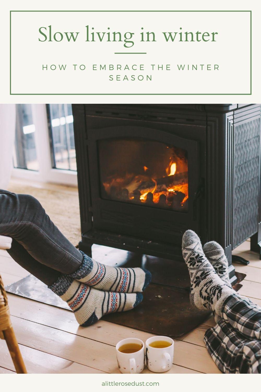 slow living in winter