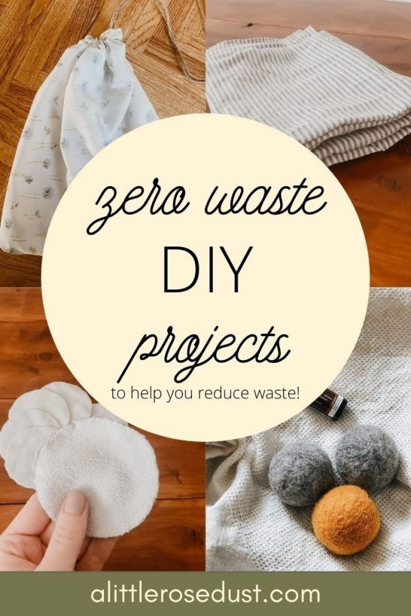 zero waste DIY projects