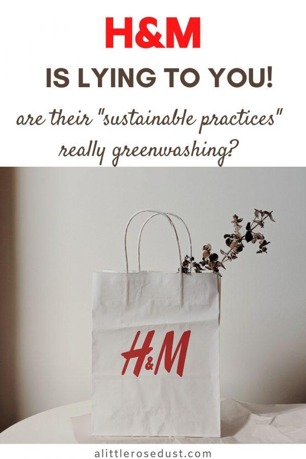 H&M's greenwashing